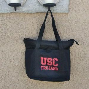 Handbags - 🤑⬇️🚺USC giant zippered tote